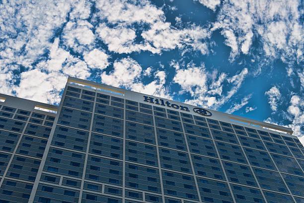 Hilton Hotel and Resort stock photo