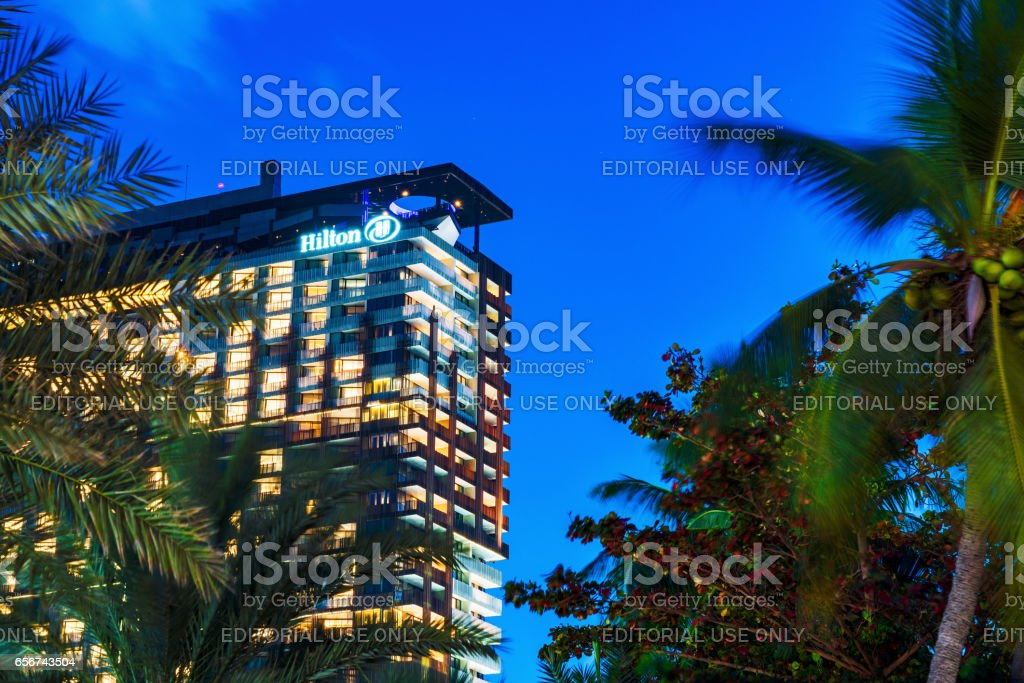 Hilton Hotel In Pattaya Thailand Stock Photo More Pictures Of