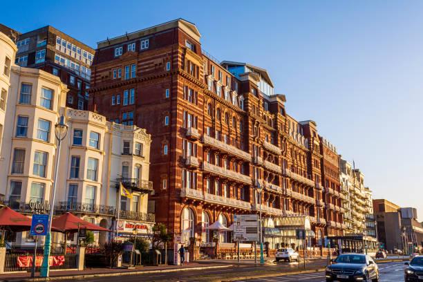 Hilton Hotel on Brighton Sea front stock photo