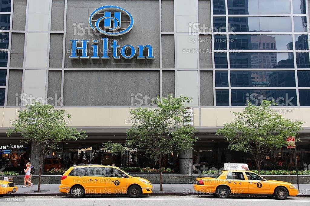 Hilton stock photo