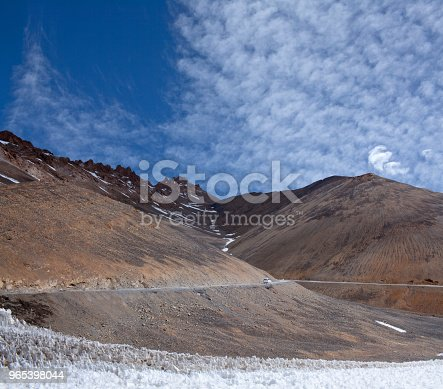Himalaya Mountain Pass In Ladakh Jammu And Kashmir North India Stock Photo & More Pictures of Adventure
