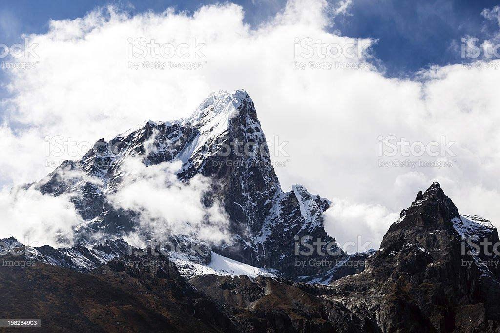 Himalaya mountains landscape, Nepal royalty-free stock photo