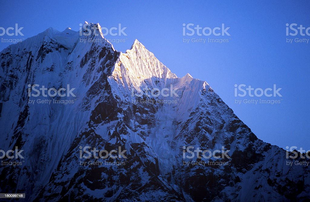 Himalaya Mountains royalty-free stock photo