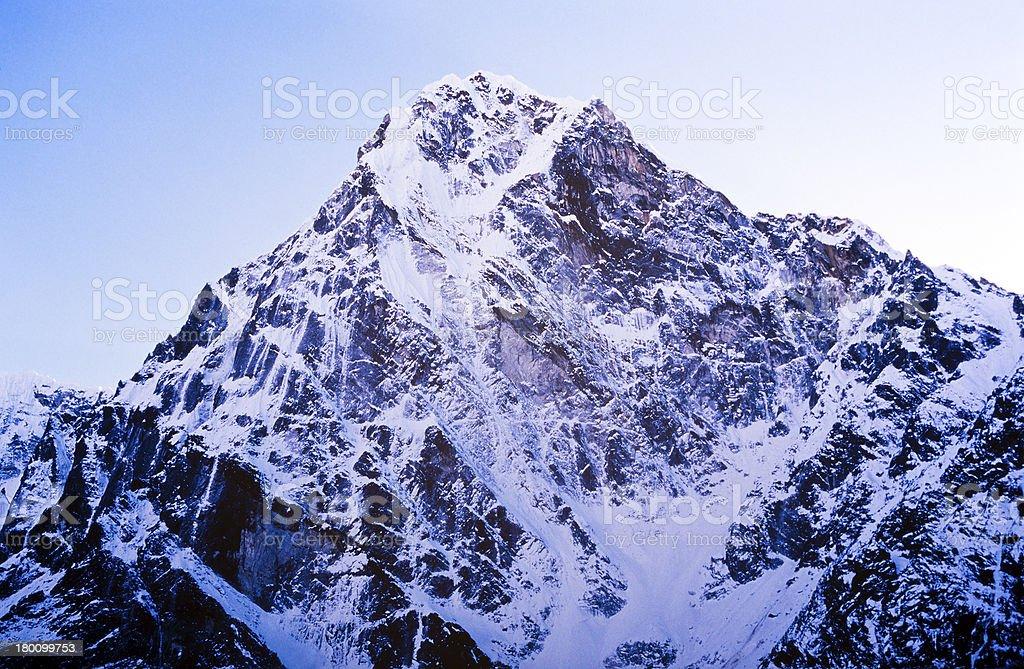 Himalaya Mountains royalty-free stock photo