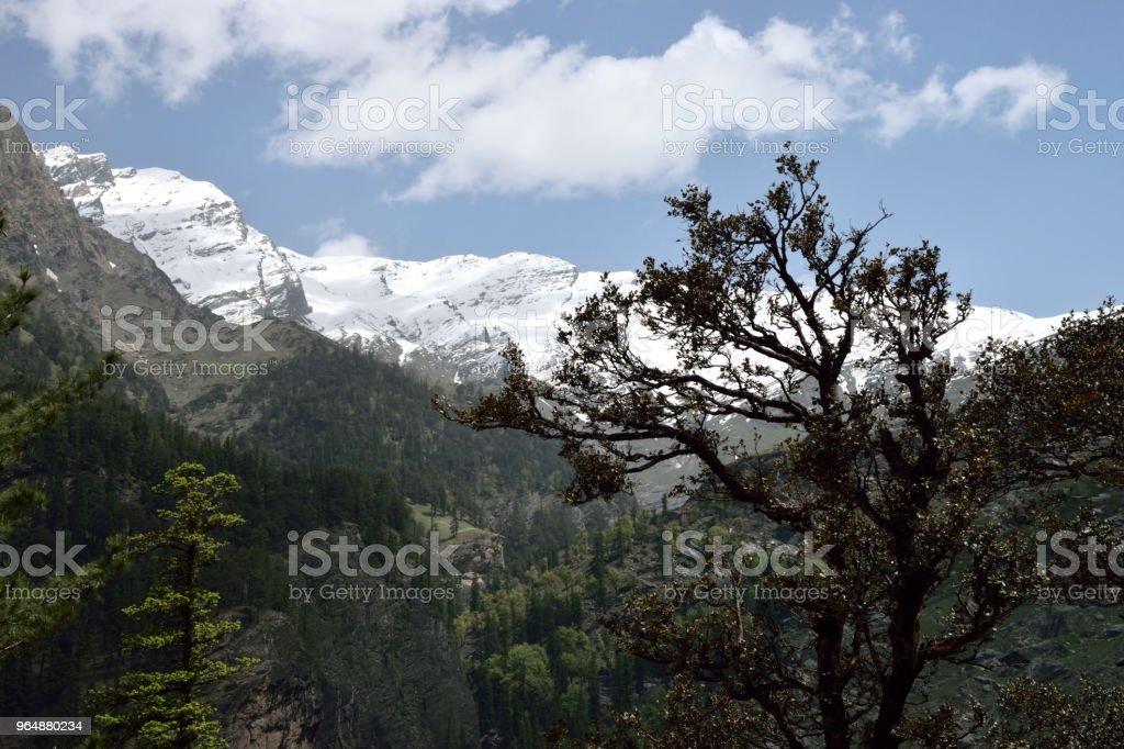 喜馬拉雅山 - 免版稅亞洲圖庫照片