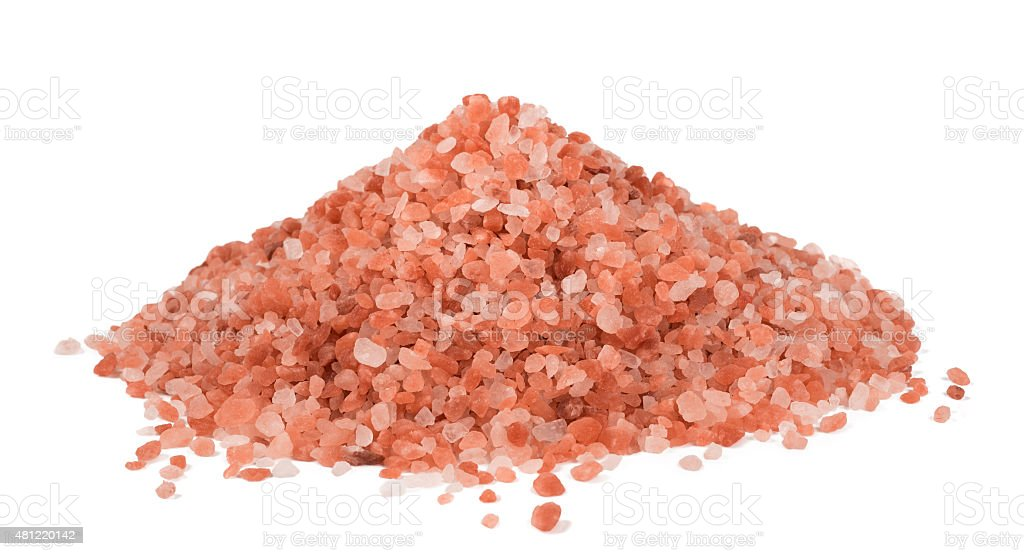 Himalaya Pink Salt stock photo