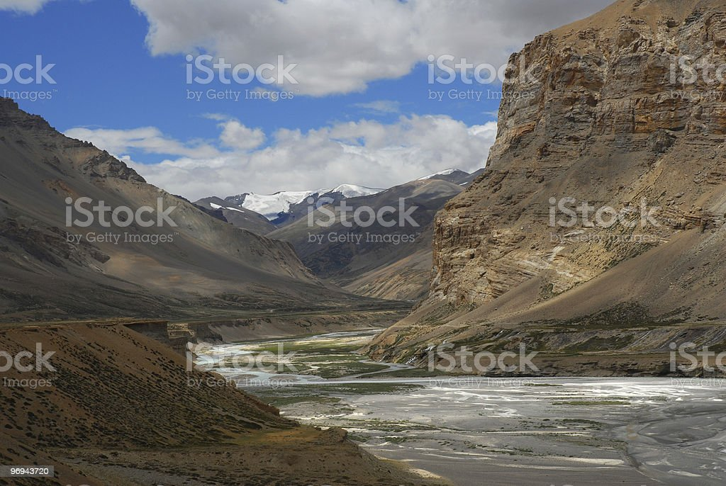 himalaya range royalty-free stock photo