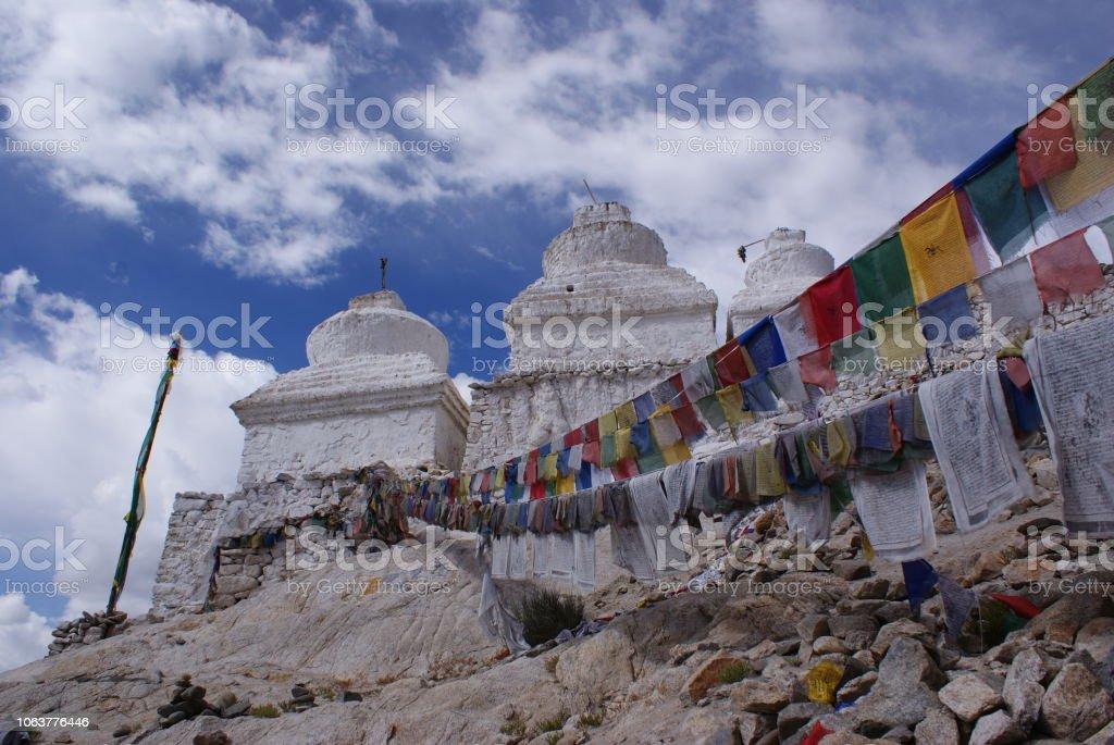 Himalayan Buddhist stock photo