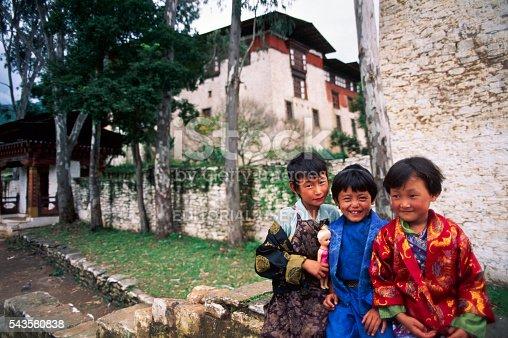 Punakha, Bhutan - September 7 1993: