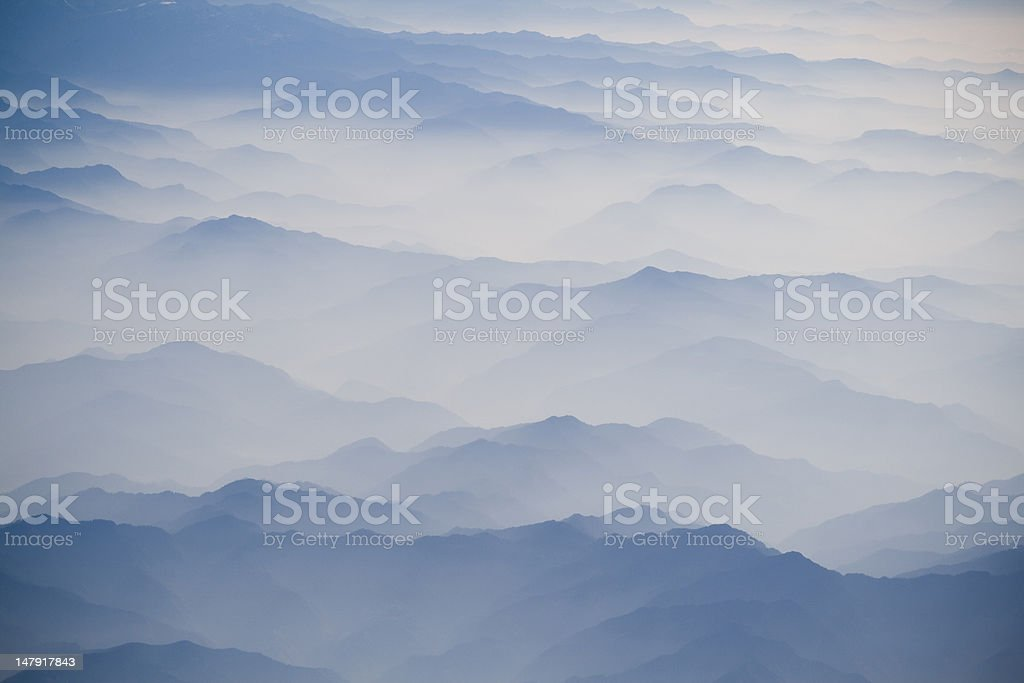 himalayan landscape stock photo