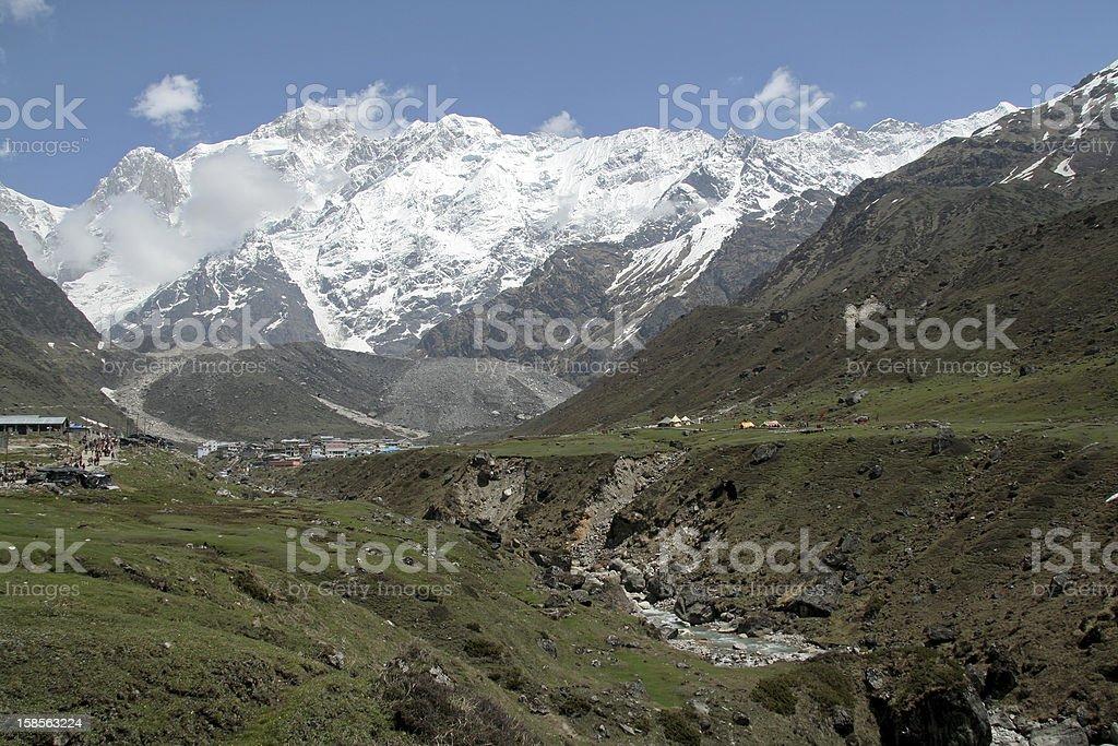 Himalayan Mountain Path - Royalty-free Arcade Stock Photo