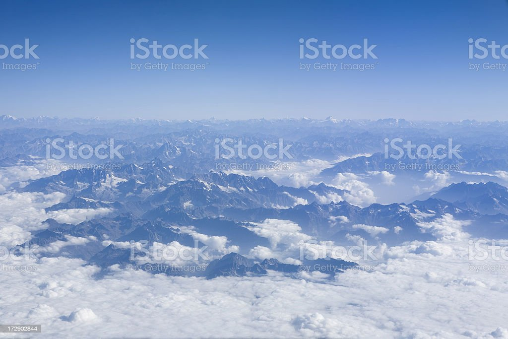 Himalayan Mountains royalty-free stock photo