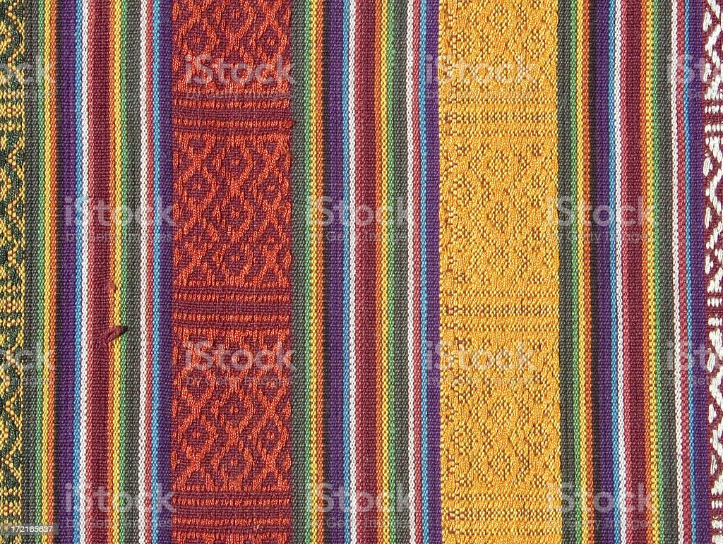 Himalayan: Nepalese fabric royalty-free stock photo
