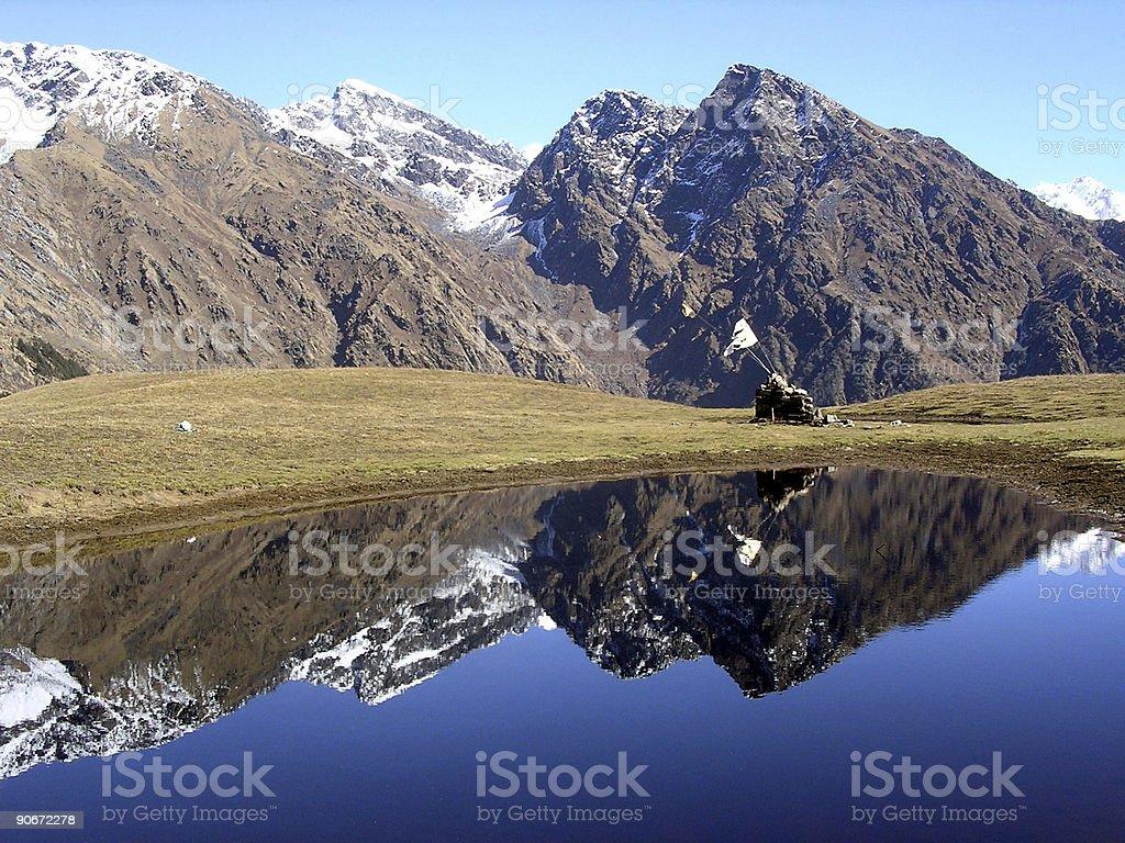 Himalayan Reflections Part II royalty-free stock photo