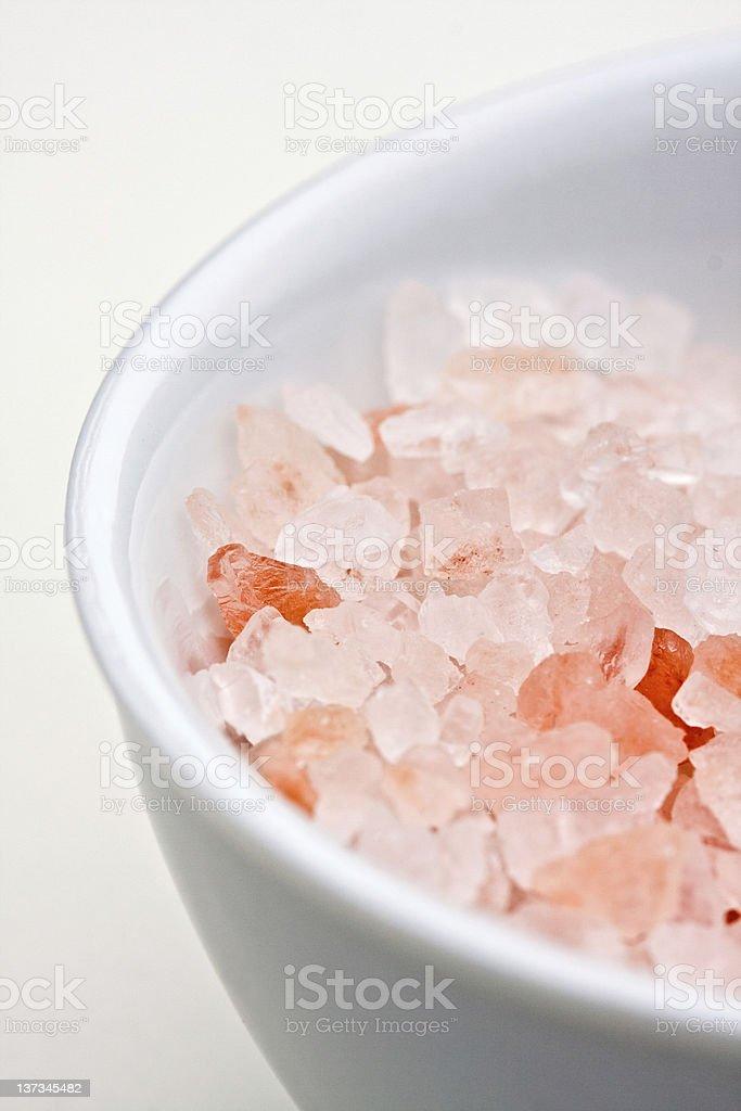 Himalayan salt royalty-free stock photo