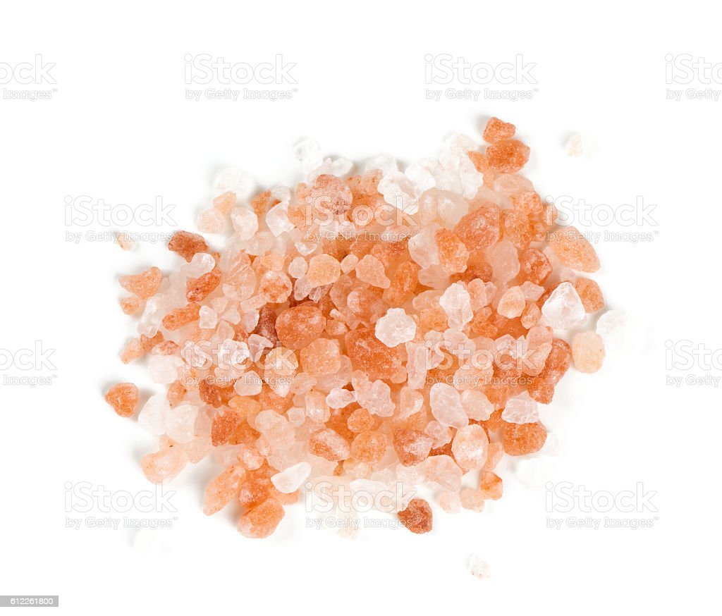 himalayan salt stock photo