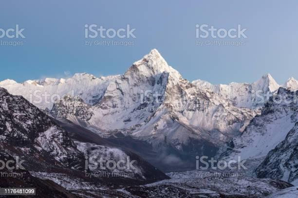 Himalayan scenery of mountain ama dablam summit picture id1176481099?b=1&k=6&m=1176481099&s=612x612&h=qvy mh3ur0qinlg0loqxgw5dj6dhkrxx28fkx2fxpre=