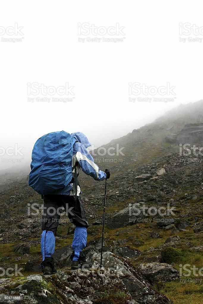 Himalayan trekking #3 royalty-free stock photo