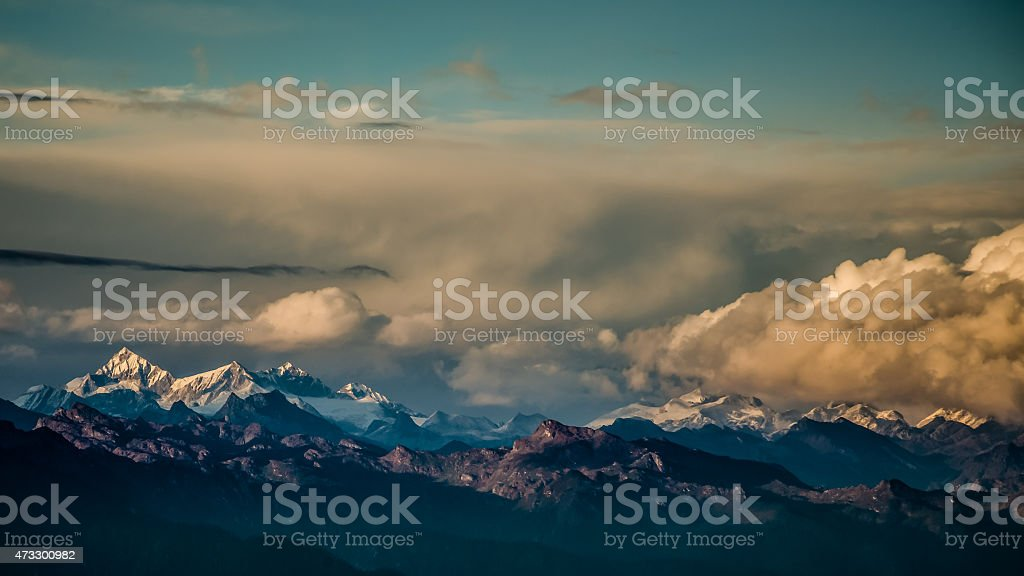 Himalayas Mountain stock photo