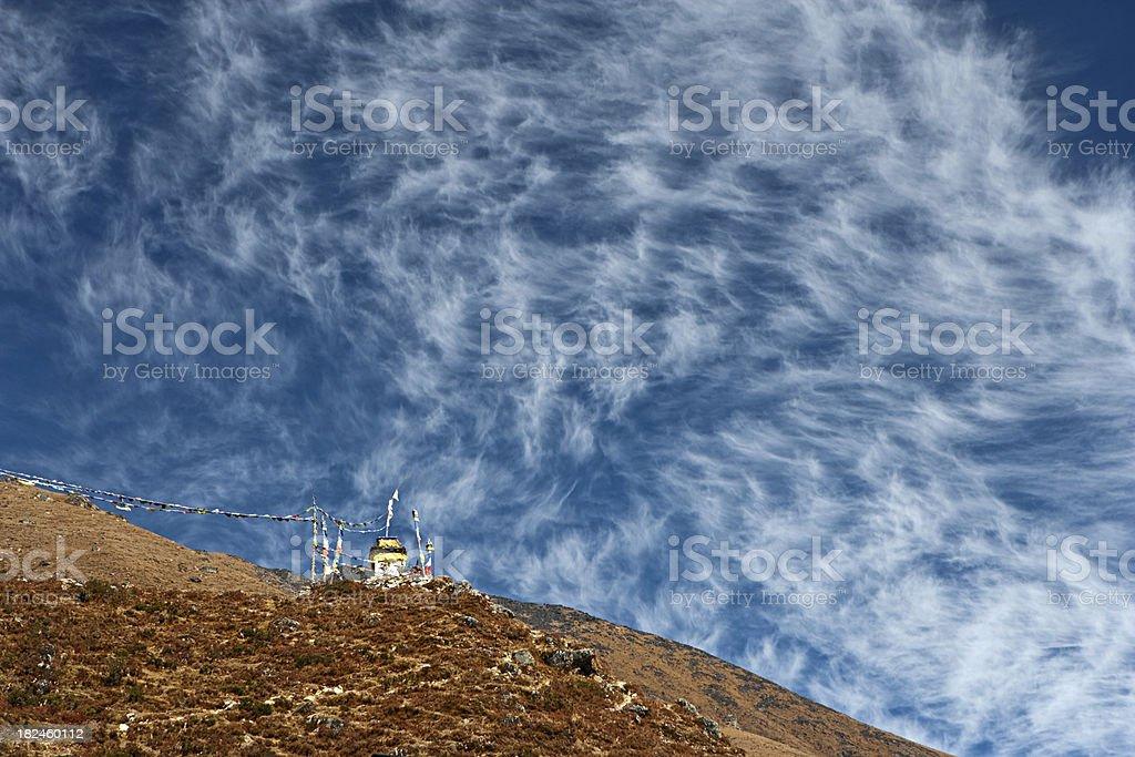 Himalayas panorama foto de stock libre de derechos
