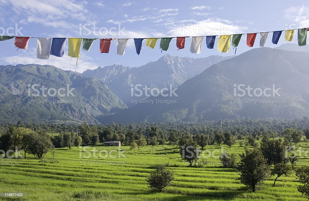 Himalayas royalty-free stock photo