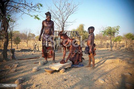istock Himba family 143921835