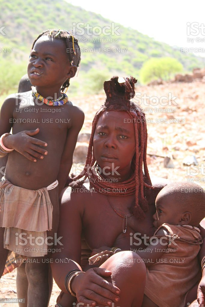 Old Himba Woman Stock Photo & More Pictures of Active