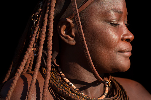istock Himba woman portrait. 664077924