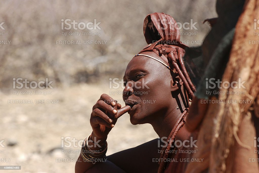 Himba Woman Baby Namibia High-Res Stock Photo - Getty Images