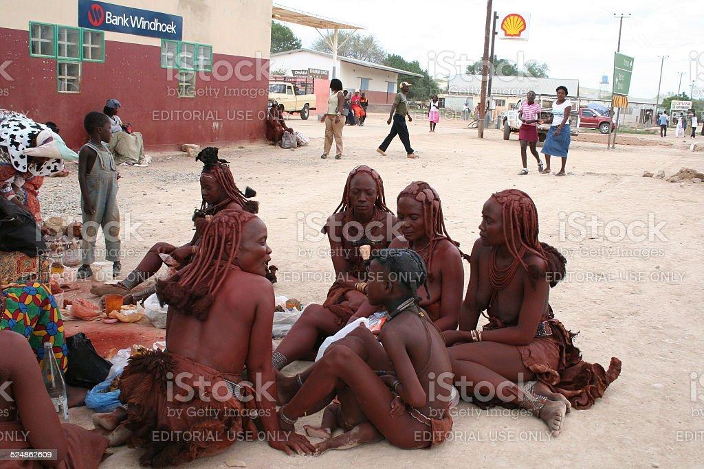 Beautiful Himba Woman In Namibia Stock Photo - Download