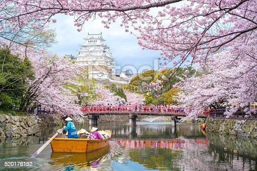 istock Himeji Castle in Hyogo, Japan 520176152