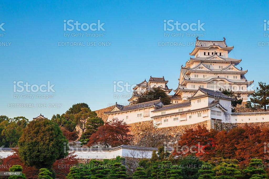 Himeji Castle in Hyogo Prefecture, Japan stock photo