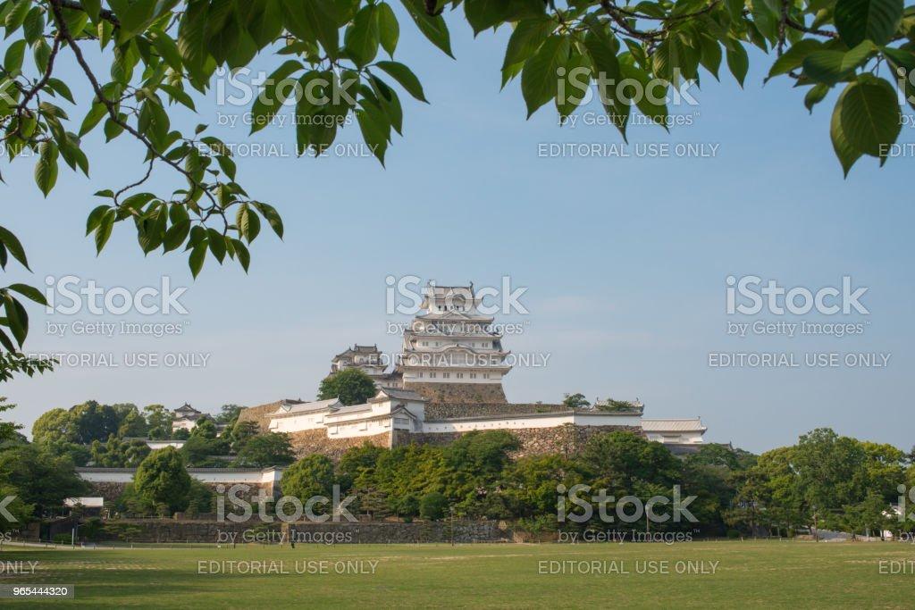 Himeji Castle Japan royalty-free stock photo