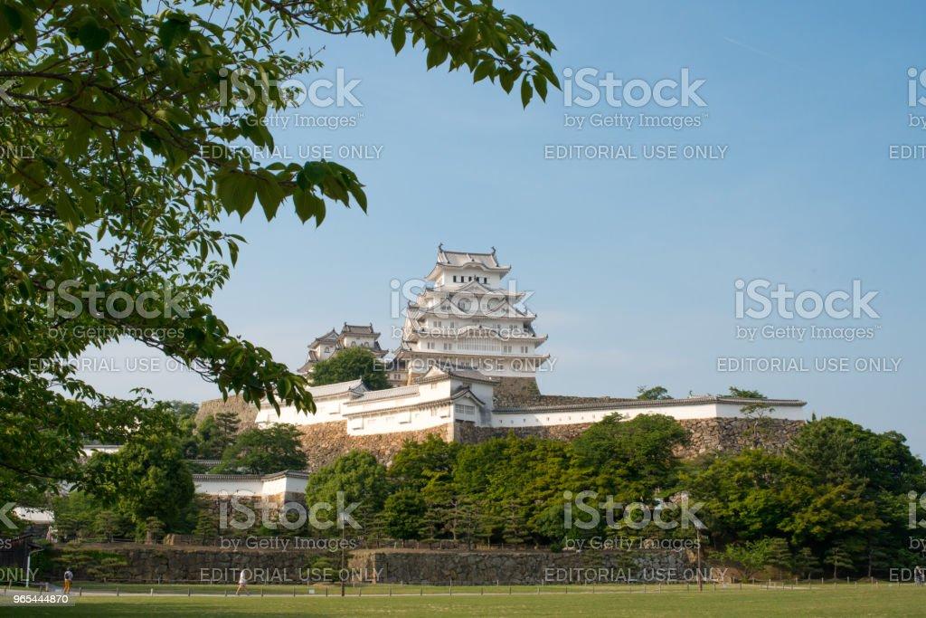 Himeji Castle Japan zbiór zdjęć royalty-free