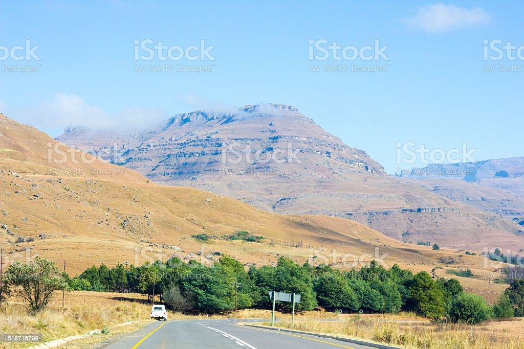 Himeville in KwaZulu-Natal, South Africa stock photo