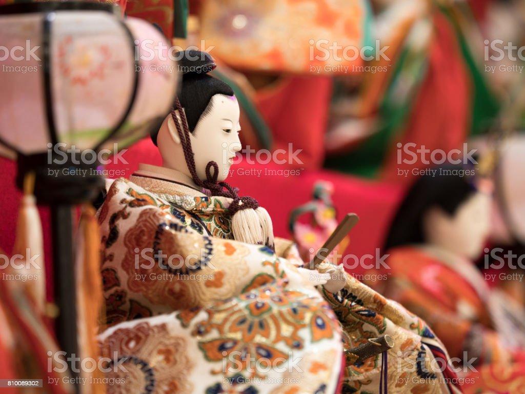Hina doll stock photo