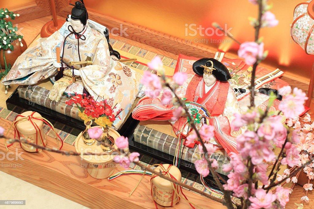 Hina Ningyou (dolls) stock photo