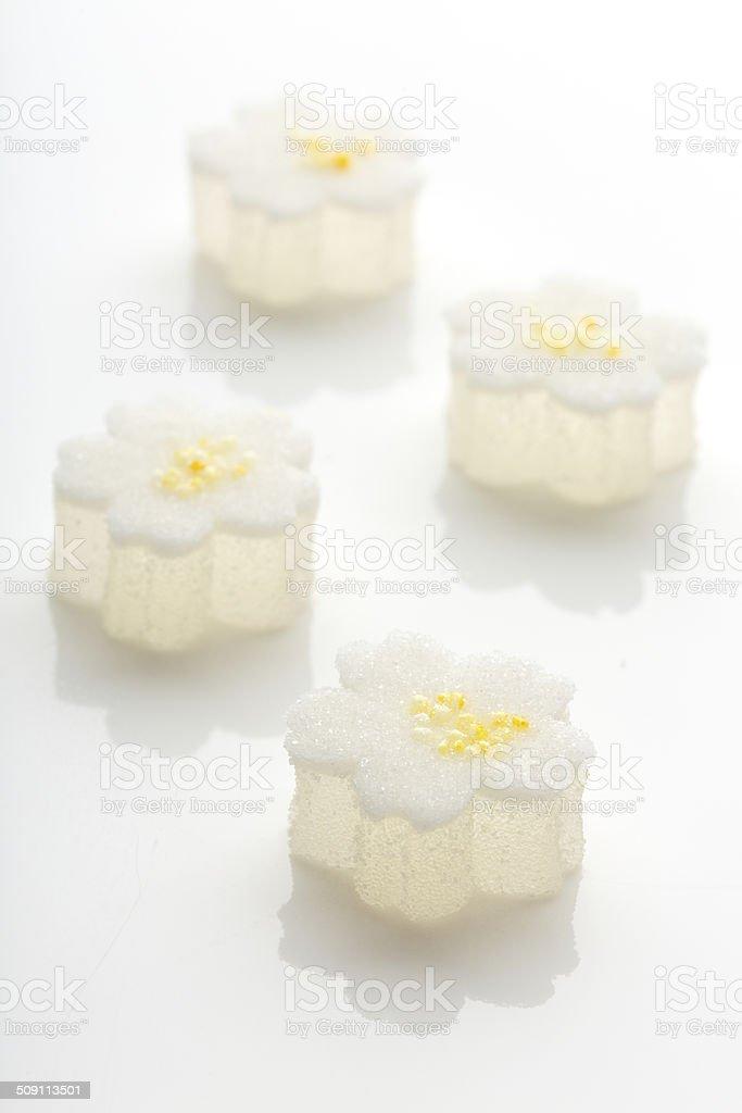 Hinamatsuri treats stock photo