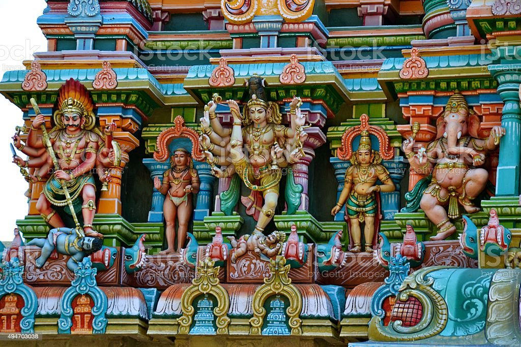 Hindu Deities stock photo