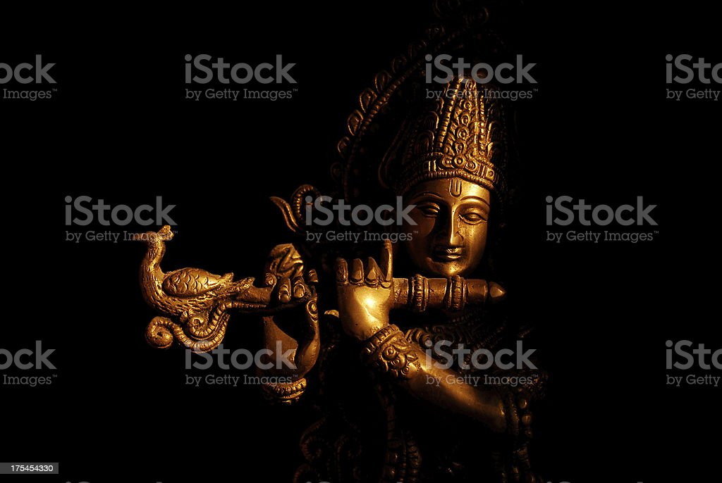 Hindu God - Krishna stock photo