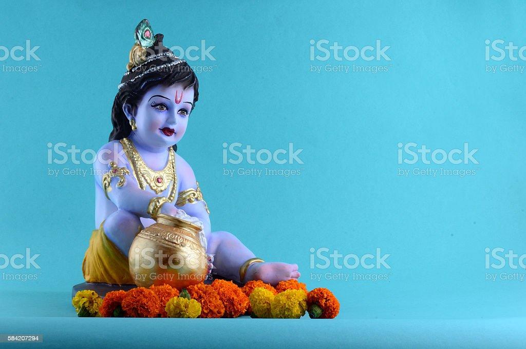 Hindu God Krishna Stock Photo - Download Image Now - iStock