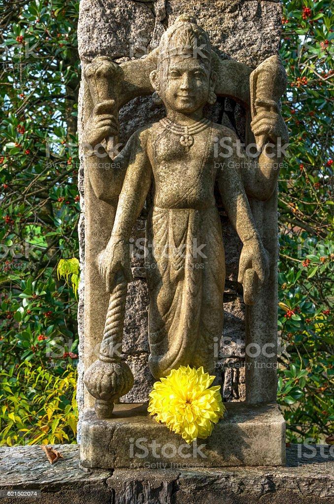 Hindu god-Skulptur Lizenzfreies stock-foto