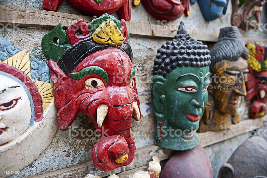 Hindu gods royalty-free stock photo