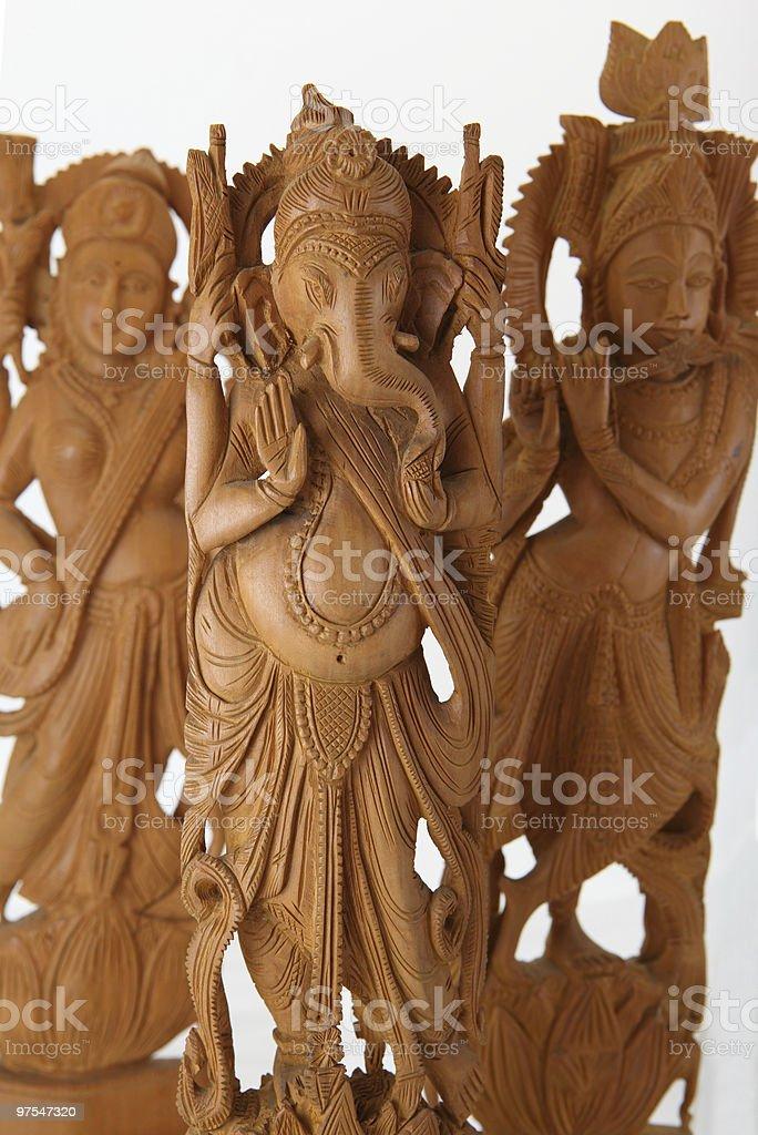 Hindou gods &g oddesses photo libre de droits