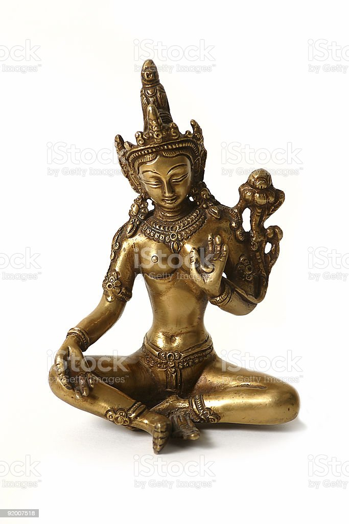 Hindu statue stock photo