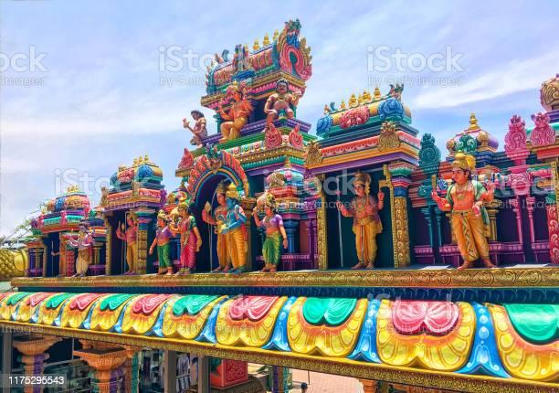Hindu Temple At The Batu Caves In Kuala Lumpur Stock Photo - Download Image Now