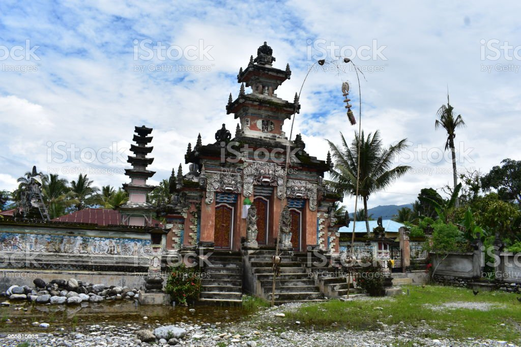 Temple hindou à Sulawesi - Royalty-free Asia Stock Photo