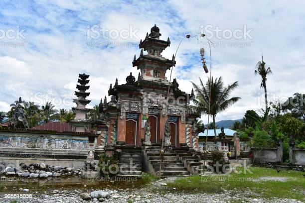 Hindu Temple In Sulawesi Stock Photo - Download Image Now