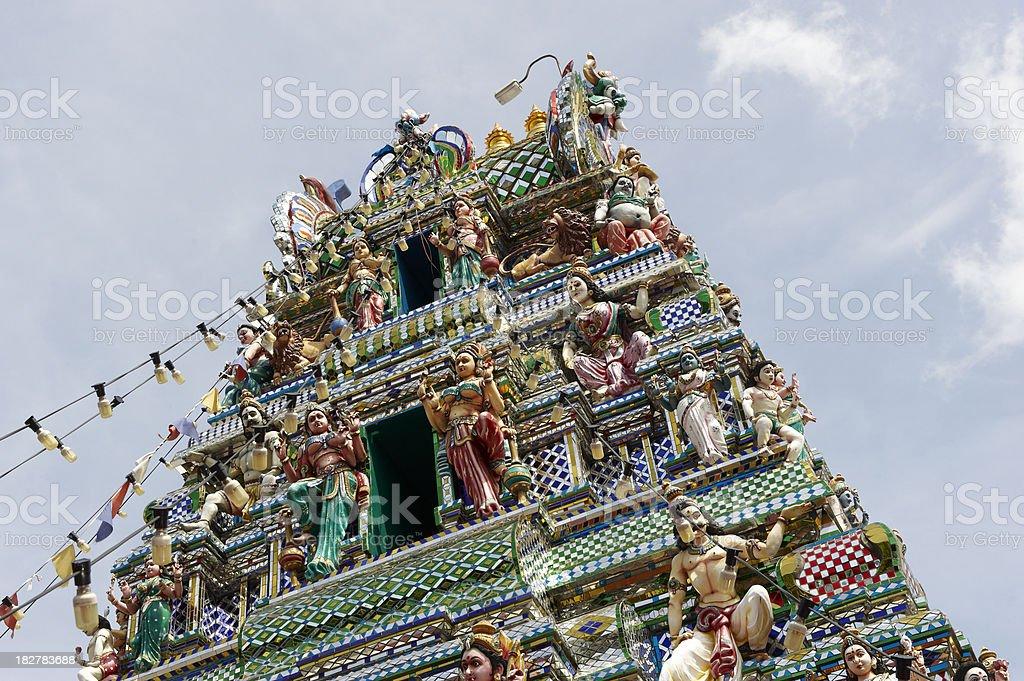 Hindu Temple stock photo