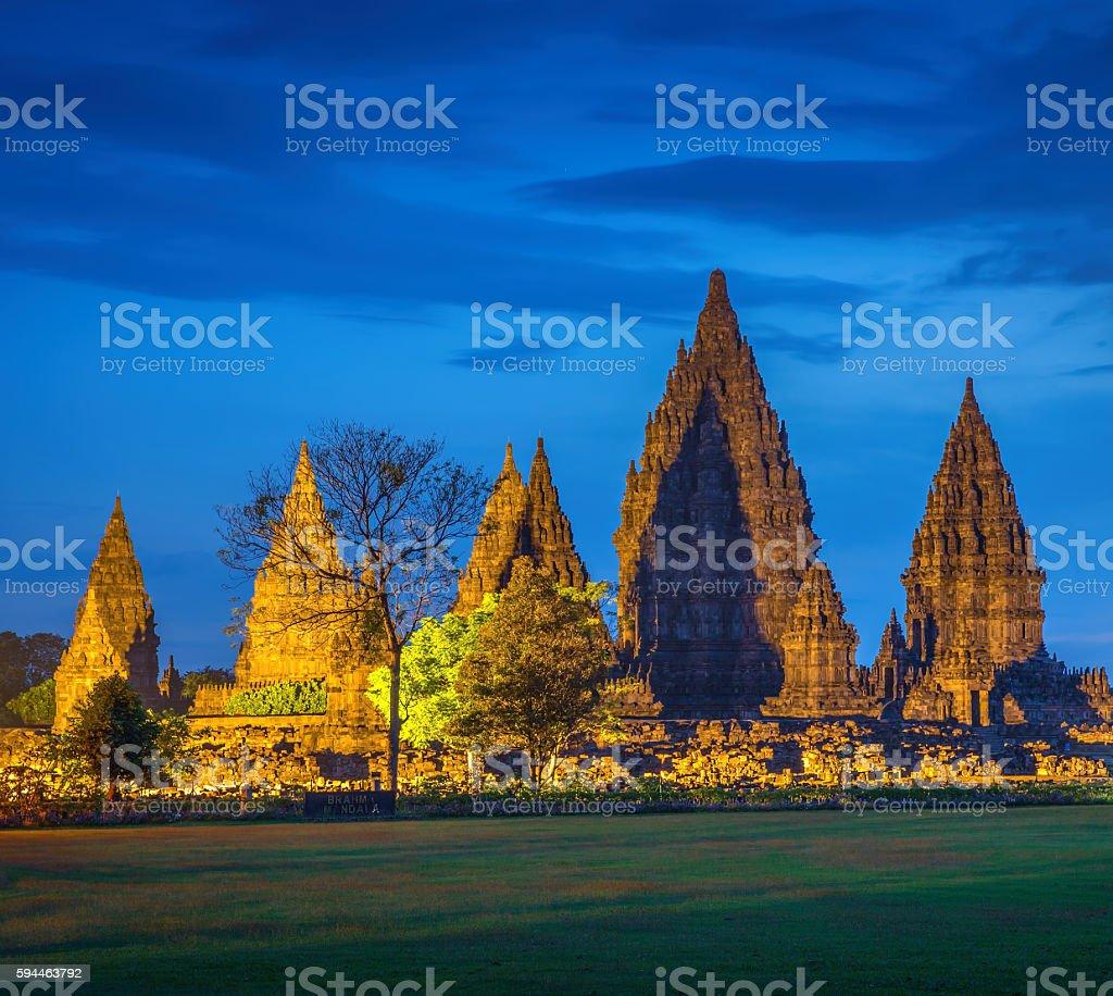 Hindu temple Prambanan. Indonesia, Java, Yogyakarta stock photo